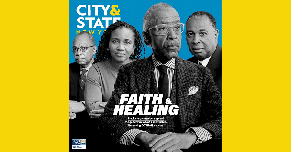CITY & STATE NEW YORK COVER STORY: THE BLACK CLERGY TAKES ON THE VIRUS